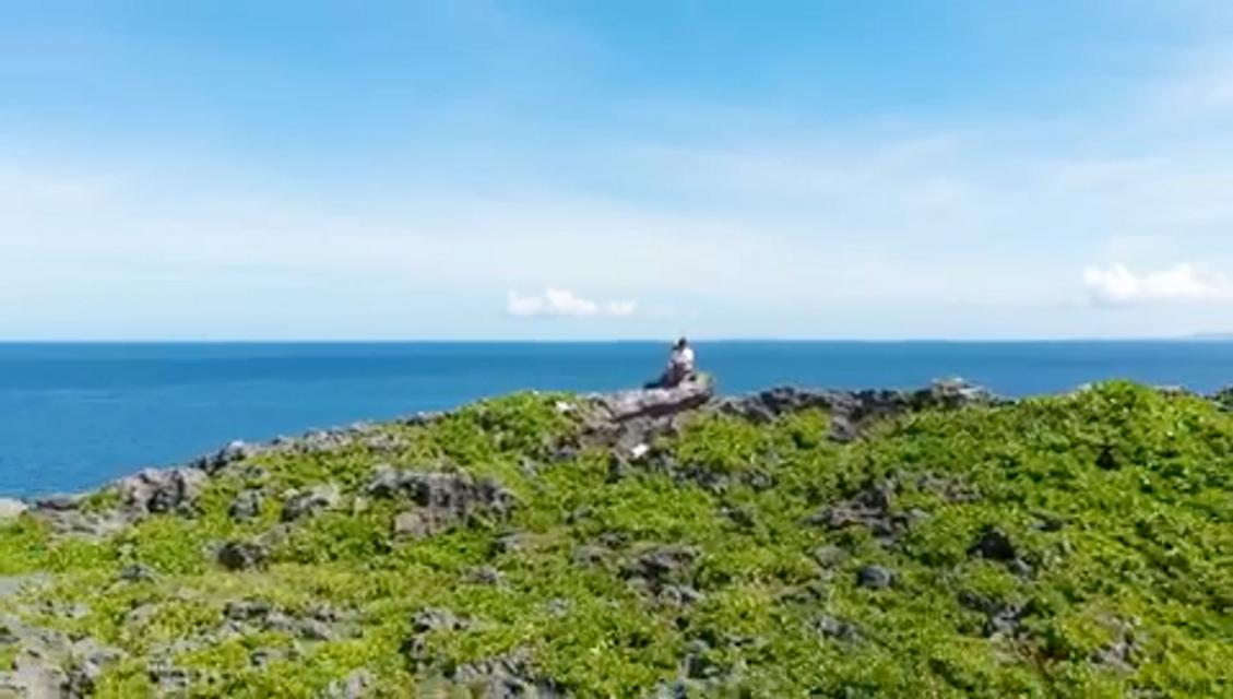 沖縄の絶景をドローンで!