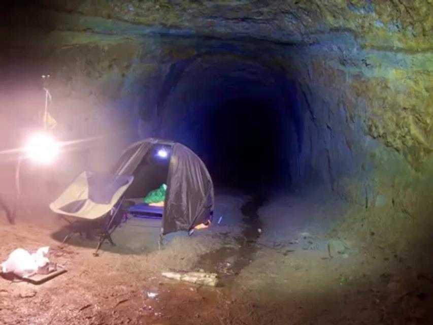 トンネルキャンプ